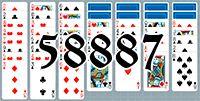 Пасьянс №58887