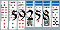 Пасьянс №59258