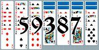 Пасьянс №59387