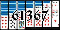 Пасьянс №61367