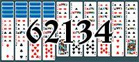 Пасьянс №62134