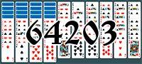 Пасьянс №64203