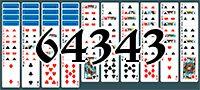 Пасьянс №64343