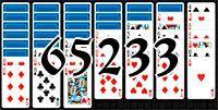 Пасьянс №65233