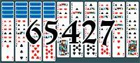 Пасьянс №65427