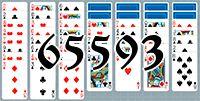 Пасьянс №65593