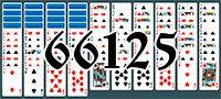 Пасьянс №66125