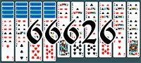 Пасьянс №66626