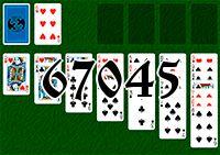 Пасьянс №67045