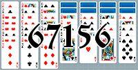 Пасьянс №67156