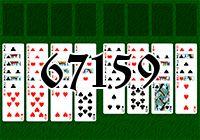 Пасьянс №67159