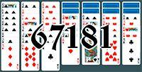 Пасьянс №67181