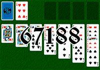 Пасьянс №67188