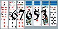 Пасьянс №67653