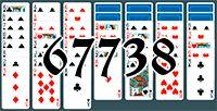 Пасьянс №67738