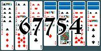 Пасьянс №67754