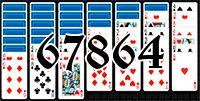 Пасьянс №67864