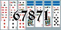 Пасьянс №67871
