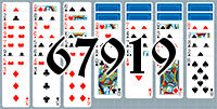 Пасьянс №67919