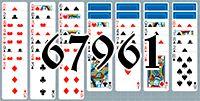 Пасьянс №67961