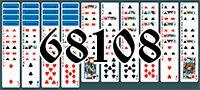 Пасьянс №68108