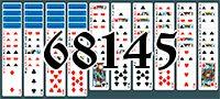 Пасьянс №68145