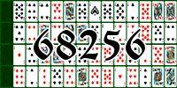Пасьянс №68256