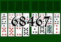Пасьянс №68467