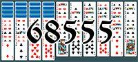 Пасьянс №68555