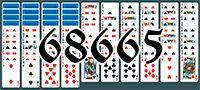 Пасьянс №68665