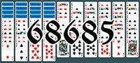 Пасьянс №68685