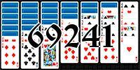 Пасьянс №69241