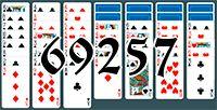 Пасьянс №69257