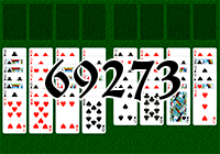 Пасьянс №69273