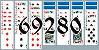 Пасьянс №69280