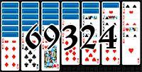 Пасьянс №69324