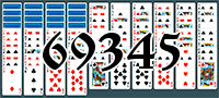 Пасьянс №69345