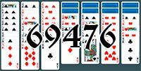 Пасьянс №69476