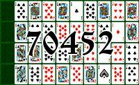 Пасьянс №70452