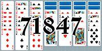 Пасьянс №71847