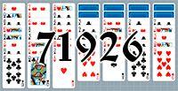 Пасьянс №71926