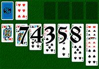 Пасьянс №74358