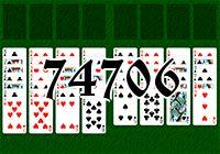 Пасьянс №74706