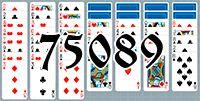 Пасьянс №75089