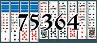 Пасьянс №75364