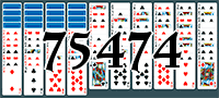 Пасьянс №75474