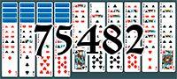 Пасьянс №75482