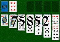 Пасьянс №75852