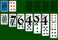 Пасьянс №76494