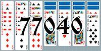 Пасьянс №77040